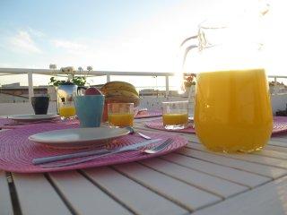 Casa Sol, atico muy luminoso con terraza en el centro de Jerez (costa de la luz)