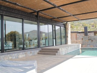Bodrum Gumusluk Special Designed Villa With Private Swimming Pool # 840