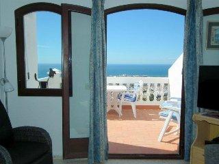 Apartamento de estilo nórdico con vistas al mar, Wifi y A/C