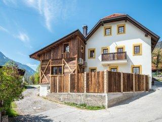 Country house Dovje in sunny alpine village near byTriglav National Park