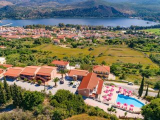 Kefalonia Island SUPERIOR FLAT + Pool Sea View Sleeps 2 / 4