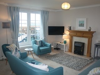 Dirrumadoo, North Berwick seaside 3 bed holiday apartment