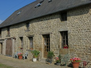 NORMANDY LONG HOUSE IN NORMANY FRANCE
