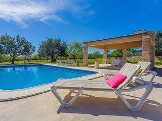 Rustic villa with private pool near Portopetro
