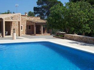rustic villa in the countryside near Portopetro with private pool, 4 pax.