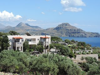Apartments-Nostalgia in Souda beach of Plakias area south Crete in Preveli beach