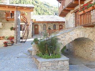 Casa vacanze a Torrette, borgata rinata del comune di Casteldelfino
