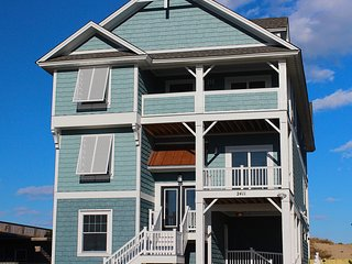 Fanta Sea a Brand New 9 Bedroom Oceanfront Home w/1 Day of Free H2OBX TIckets