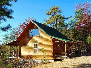 You will enjoy this cozy and private log cabin tucked away for privacy!!