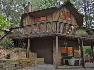 Tucked Away Cabin- Private Setting in the Coosawattee River Resort with
