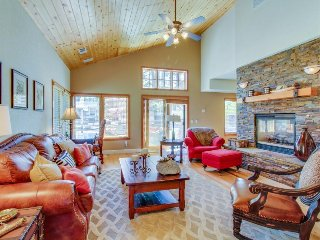 Conveniently located, upscale home w/ views - close to town, lake, and slopes!