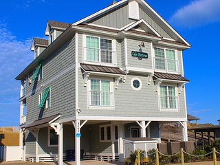 The Cape Hatteras- 8 Bedroom Oceanfront Home
