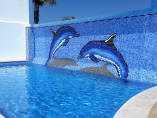 Beautiful holiday villa with private pool in Albufeira,Olhos de Agua