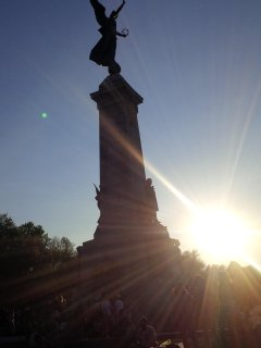 Within walking distance: Mt Royal monument (7 mins)