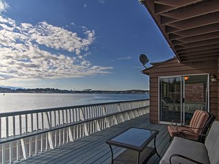 Remodeled Waterfront Port Orchard Apt w/Balcony!