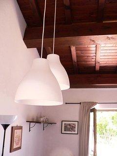 Casina del Ciliegio, interno del cottage.