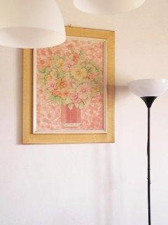 casina del Ciliegio, decoupage floreali fatti da me.