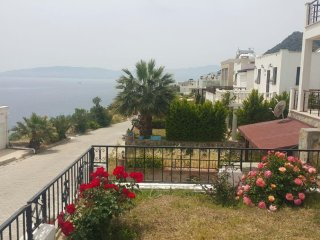 Bodrum Akyarlar Sea View Duplex Within Housing Complex With Private Beach # 841