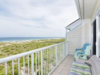 Wrightsville Dunes 3B-D _ Oceanfront condo with community pool, tennis, beach