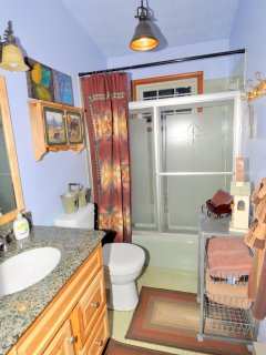 The Full Bathroom with Tub/Shower Combination