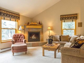 Snake River Village 40 - Walk to slopes, washer/dryer. private garage, ground
