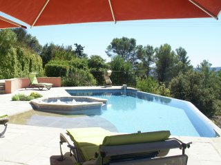 Villa - LORGUES - Splendid villa with swimming pool with Jacuzzi and additional