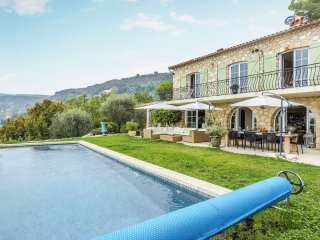 Roucaou - Stylish villa with private pool and terrace garden with panoramic sea