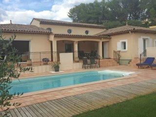Villa Liberté - Comfortable villa with fenced garden and private pool