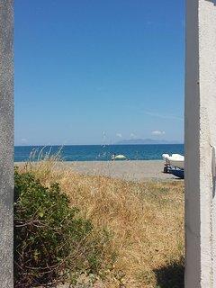 Door to the seaside