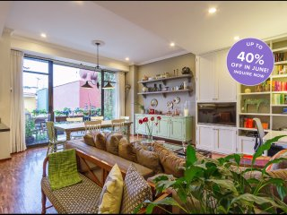Charming CDMX base in secure building, Roma Norte.