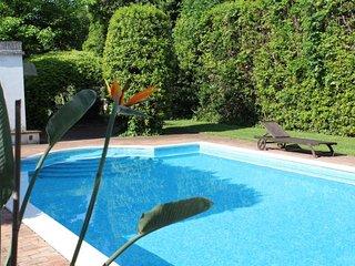 Apt con piscina immerso nel parco