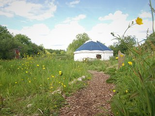 Nature Lovers' Off Grid Yurt