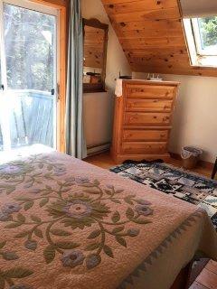 Pine Master bedroom