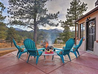 New! 3BR Estes Park Cabin w/ Patio and Mtn Views!