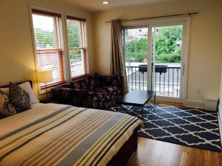 Private Deluxe Suite 2 beds  Roof Deck in the Heart of Dupont - New construction