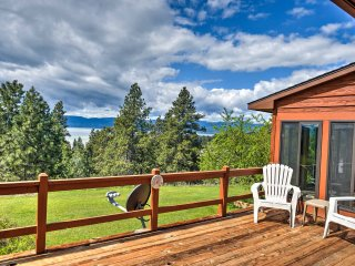 NEW! 3BR Bigfork House w/ Views of Flathead Lake!