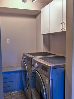Keep your clothes fresh in the washer and dryer.