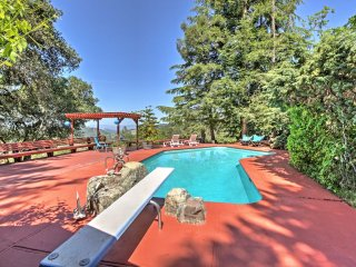 NEW! 1BR Santa Rosa Cottage w/ Pool & Large Deck!