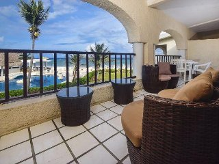 Double Balcony! Oceanfront 2 bedroom in Xaman Ha (XH7103)