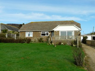 Cormorants - a large bungalow on the cliff top with fabulous sea views.