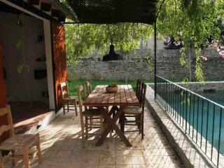 Cas Canonge,céntrica casa rural con jardín y piscina