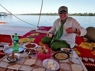 Enjoy Egypt with Aiman Madany on a Felucca