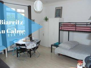 Studio au calme a Biarritz 2/4 voyageurs