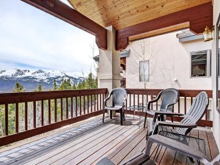 Take in the Incredible Views in this Remodeled Townhome with Free Shuttle Access