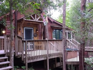 The Treehouse Cabin-Private,Secluded Cabin in a Beautiful Forest-Dog Friendly