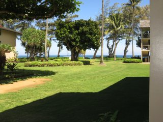 Kauai Kapaa #115 Ocean view condo Vacation Rental condo by owner AC free WiFi