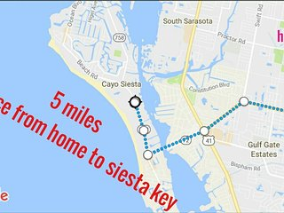 SMALL STUDIO APARTMENT PERFECT LOCATION CLOSE EVERYWHERE, SIESTA KEY (5min)