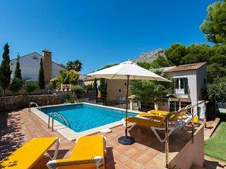 CAVALL BERNAT - Villa for 8 people in CALA SANT VICENC