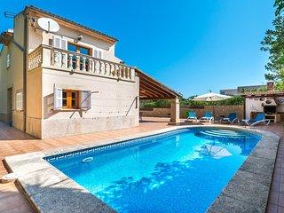 SES MARGALIDES - Villa for 6 people in Colonia de Sant Pere
