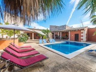SA VERDERA - Villa for 10 people in Maria de la Salut